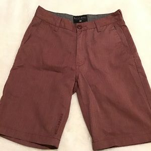 Billabong boys shorts, EUC, Size 25